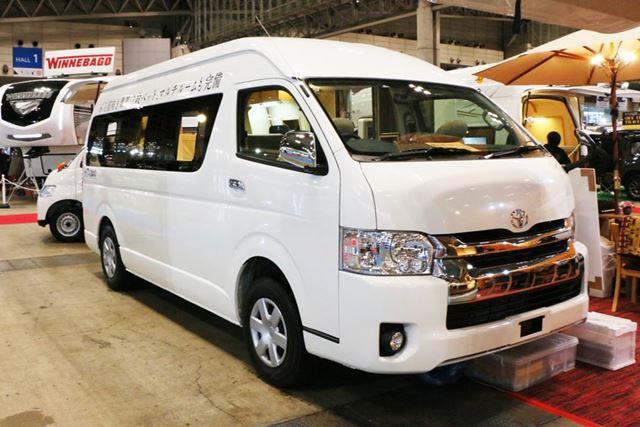 6〜7人乗車でき、2〜4人就寝可能。価格は661万8000円(税別)