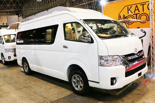 4〜5人が乗車できる「ブルームーン」。価格は591万8000円