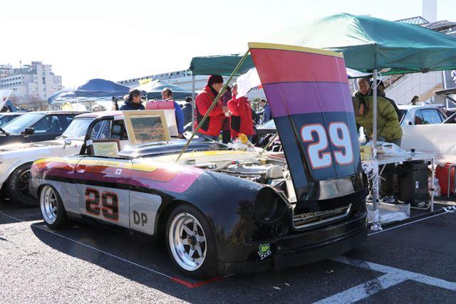 日産「フェアレディ2000」のSCCAシリーズチャンピオンカー