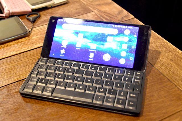 「Gemini PDA」(Planet Computers)。2018年には、日本国内で正式販売が開始された