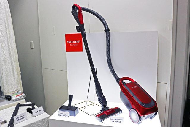 EC-VP510の市場想定価格は5万円前後で、2019年2月21日発売予定