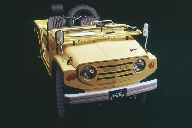 スズキ「ジムニー」(初代、LJ10型)