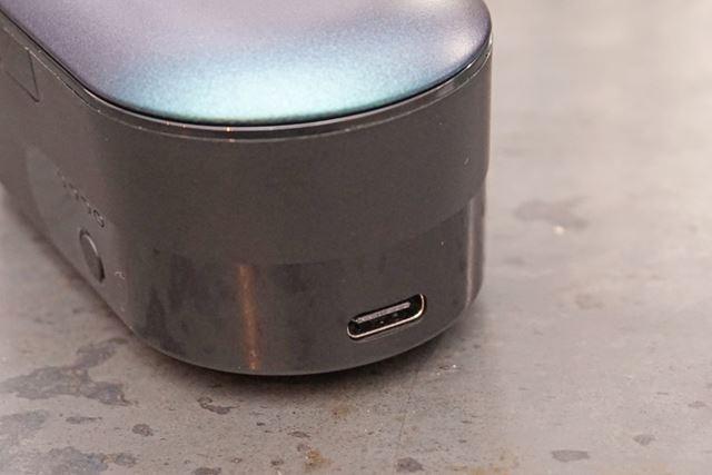 充電ポートはいまどき仕様のUSB Type-C