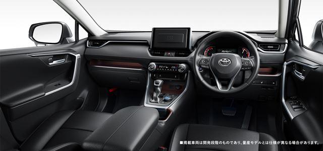 トヨタ「RAV4」日本仕様のプロトタイプモデル(インテリア)