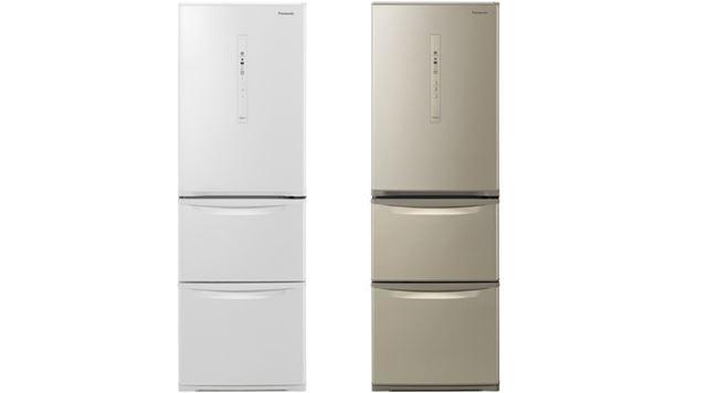 レイアウトは上から「冷蔵室」「野菜室」「冷凍室」