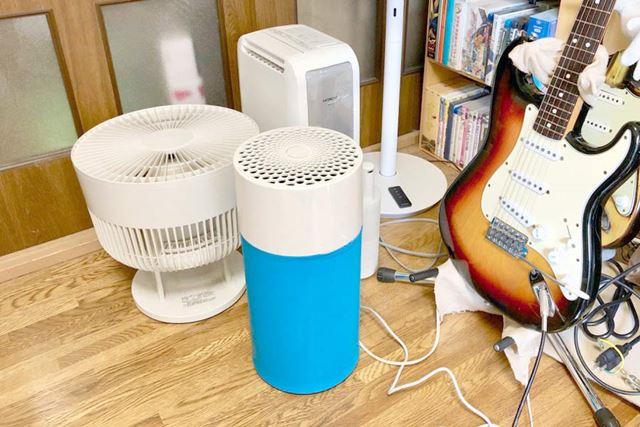 我が部屋の空調機器エリアに設置! オシャレ感、消失!