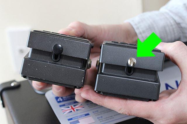 さらに、MT-2には存在しない「銀ネジ」仕様も、新しいMT-2Wの特徴