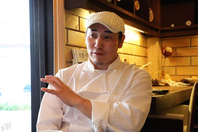 「kurabe CONTINENTAL DELICATESSEN」オーナーシェフの渡邊竜朗さん