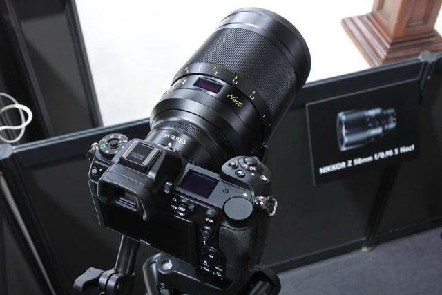 開放F0.95を実現するレンズとして話題のNIKKOR Z 58mm f/0.95 S Noct