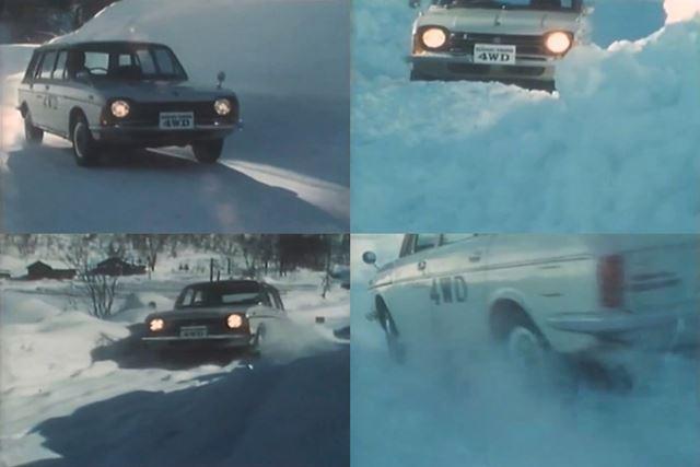 スバルは、かつて同社初の4WD開発の際に、山形の月山にて試験を行っていた