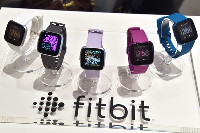 スマートウォッチ「Fitbit Versa ライトエディション」