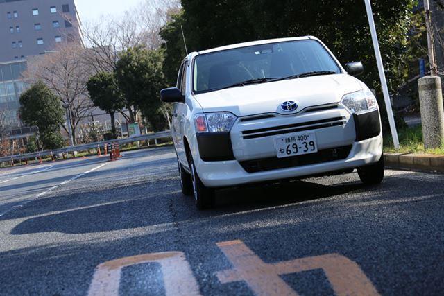 トヨタ「プロボックスハイブリッド」の試乗イメージ