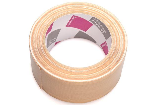 特殊な構造で簡単にはがせる「ラクにはがせる布テープ」