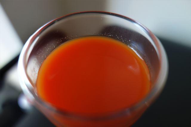トマトの色みがなかなか強めですね。たっぷり入ってるんでしょうか