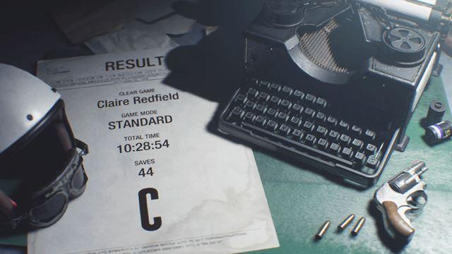 検証時のプレイリザルトは「C」でした
