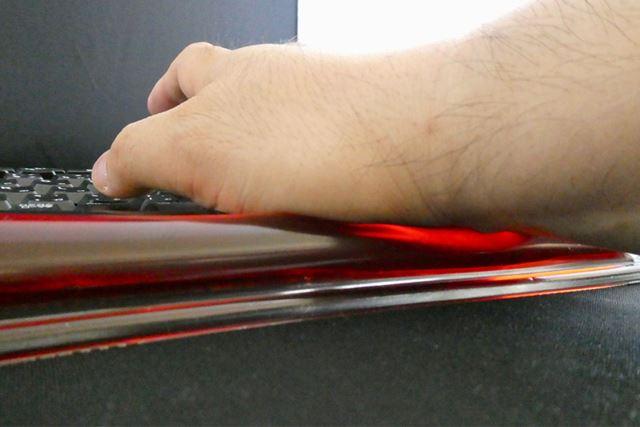 弾力性が強く手首の位置もしっかりとキープしてくれます
