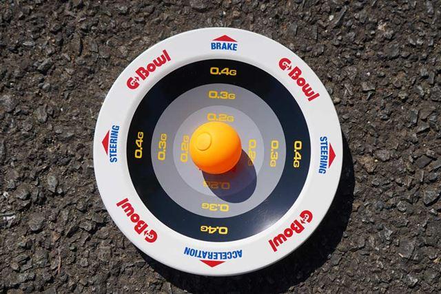 これはダンパー式ピンポン球。ダンピングが効くので感度は鈍く、難易度としては低くなります