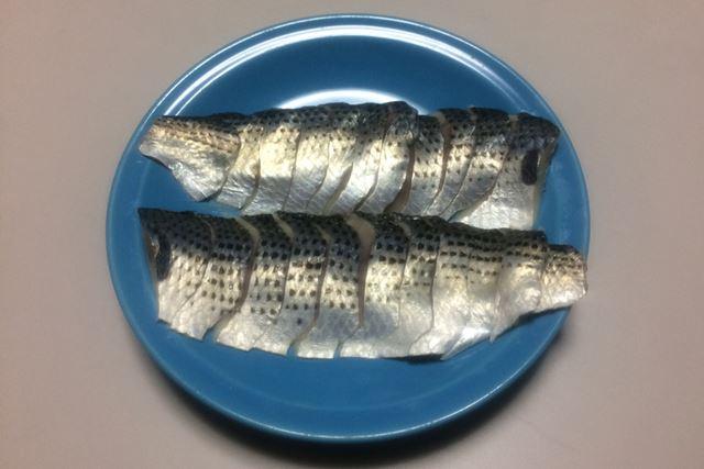 酢じめにした刺身が美味。身が大きいので食べ応えもアリ!