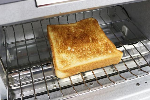 加熱時間は3分。ブレッドオーブンと時間的にはほぼ同じです