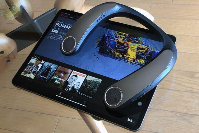Netflixを利用した試聴は、タブレット(iPad Pro)でも行った