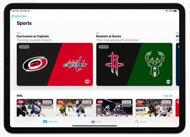 Apple TVアプリケーションは、ユーザーの視聴傾向を把握し、おすすめの番組や映画を提案してくれる