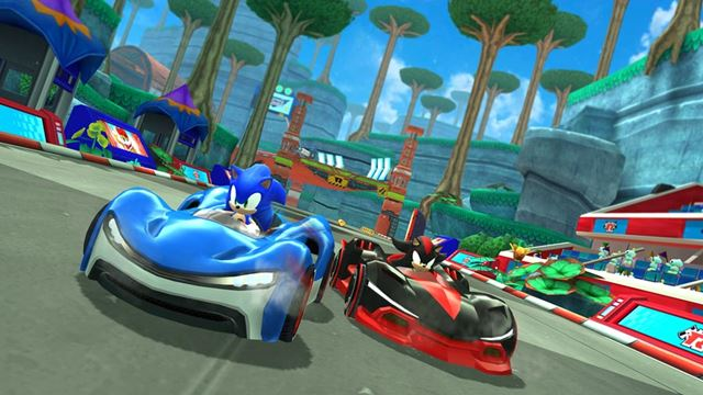 SEGAの「Sonic Racing」。今年後半提供予定