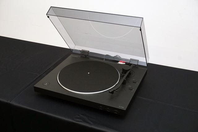 ベルトドライブ方式のアナログプレーヤー「PS-LX310BT」