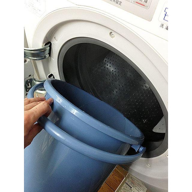 ためるお湯の温度は、最低でも40℃。お湯を使うことでより汚れを落としやすくします