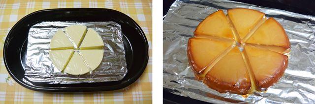 チーズを燻製にする