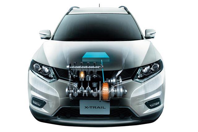 モーター駆動でのEVモード走行を可能とする本格的なFFハイブリッドシステムを搭載する