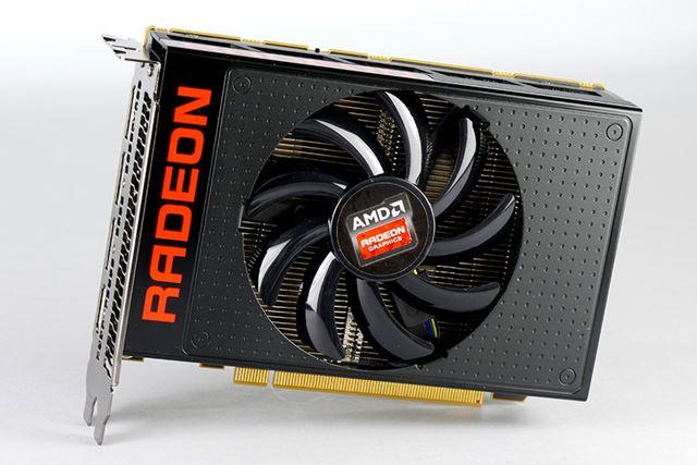 リファレンスデザインのRadeon R9 Nanoビデオカード