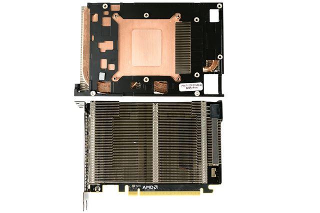 GPUとの接触面とヒートシンク