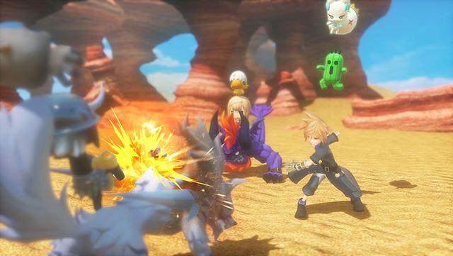 PS4とPS Vitaのマルチプラットフォームで発売される「WORLD OF FINAL FANTASY」