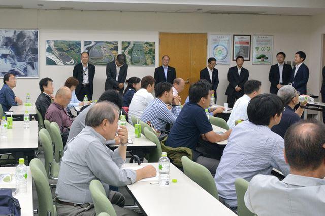 日本自動車ジャーナリスト協会(AJAJ)会員向けに開催されたブリヂストンの冬用タイヤ説明会