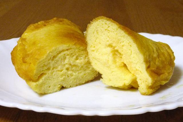 「ふわしゅわびっくり!レッツ!オムレッツ」なら、卵2つでふわふわなオムレツが完成!