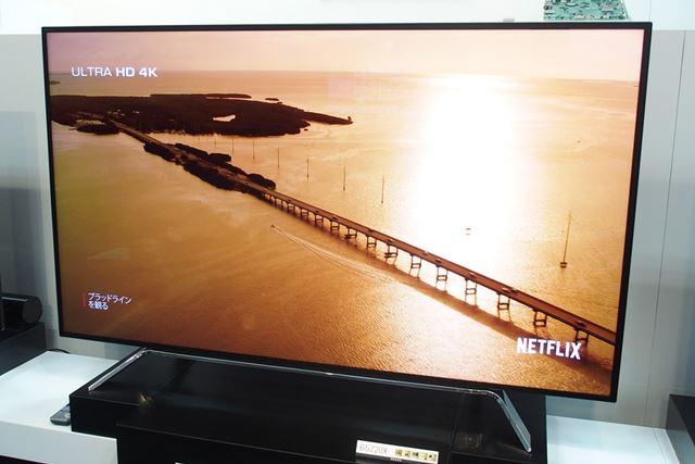 今話題の映像配信サービス「Netflix」にも対応している