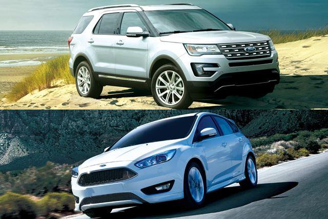 ビッグマイナーチェンジがなされたフォードの主力SUV、エクスプローラーとフォーカスに試乗した