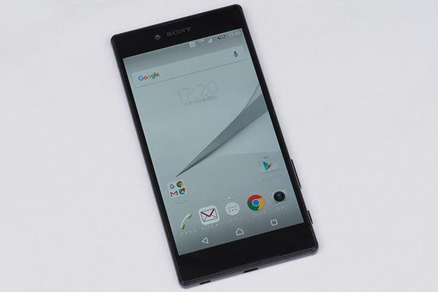 4Kディスプレイを搭載する初のスマートフォン(メーカー調べ)