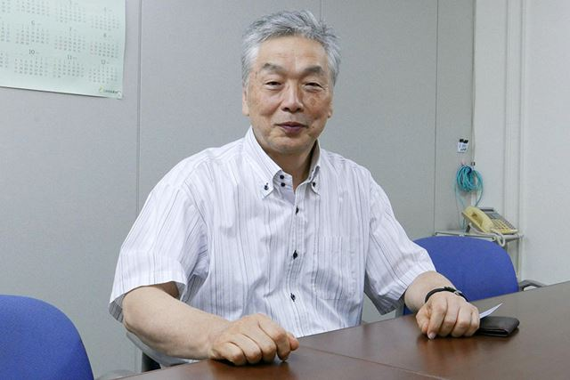ラトックシステムの社長、岡村周善氏
