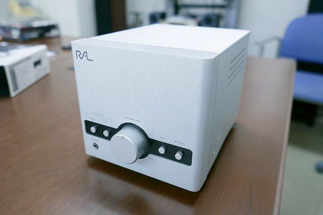 アンプ内蔵のワイヤレスUSB対応オーディオコンポ「RAL-Cettia1B」