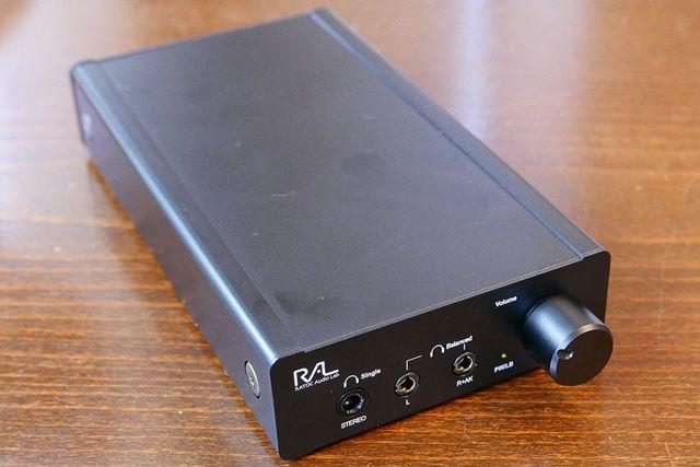 ポータブルヘッドホンアンプの「REX-KEB03」