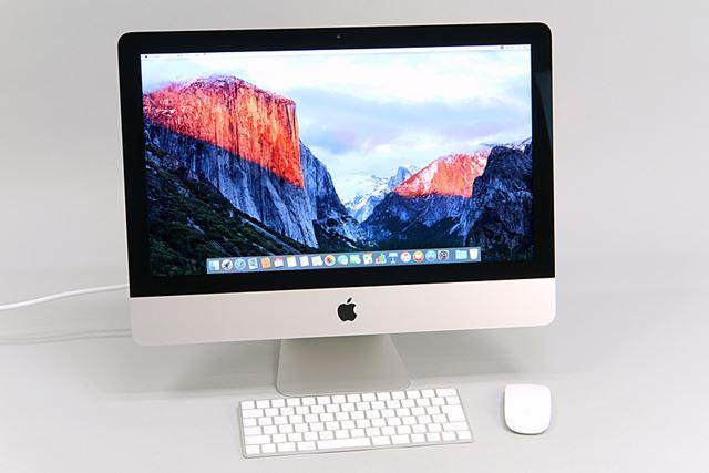 21.5インチiMac Retina 4Kディスプレイモデル