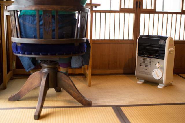 とはいえ、やはり部屋全体を暖めるというよりは、足下などワンポイントで使う方がよいだろう