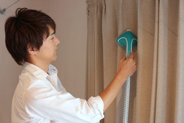 30分間連続使用可能なので、カーテンなど広範囲のケアも一気にケアできます