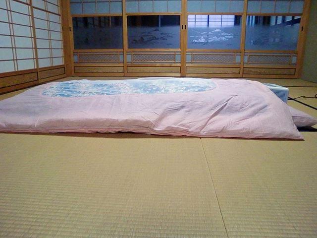 一般的な布団乾燥機にある温風を確保するマットがないため、送風中も掛け布団は盛り上がらない