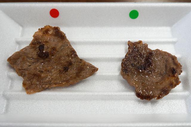 薄切り肉も、見ただけでは保存方法は判断できず