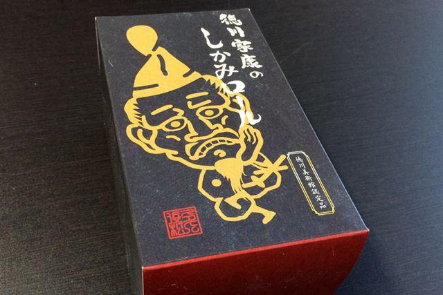 しかみ像とは言っても、パッケージに描かれているのはデフォルメされた徳川家康