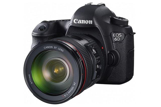 EOS 6DにEF24-105mm F4L IS USMを装着したイメージ