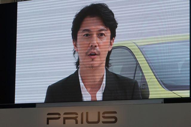 イメージキャラクターを務める、福山雅治さんのビデオレターが披露された