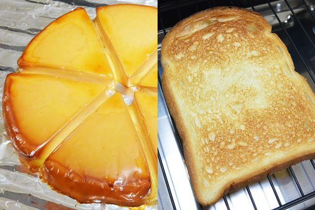 おなじみの6Pチーズも飴色にスモークされ、ひと味違った味わいに。食パンも見事な焼き色でトーストできた